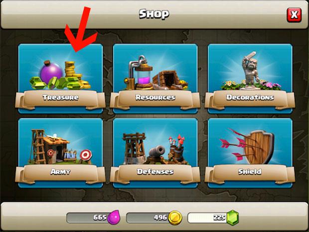 Gemme gratis Clash of Clans - I trucchi Clash of Clans gemme. Le gemme possono essere acquistate nel negozio