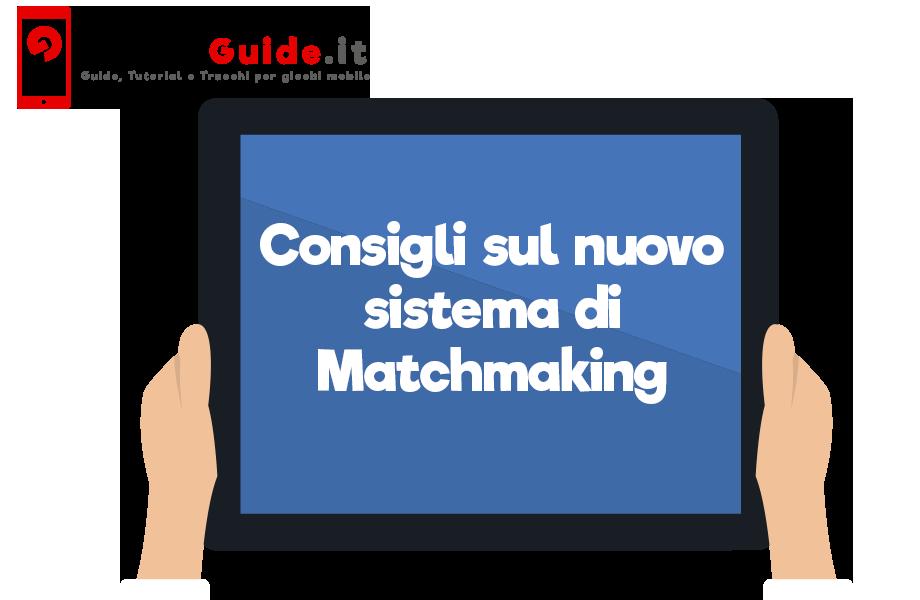 O que é sistema matchmaking