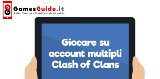 Giocare su account multipli Clash of Clans