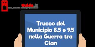 Trucco del Municipio 8.5 e 9.5 nella Guerra tra Clan