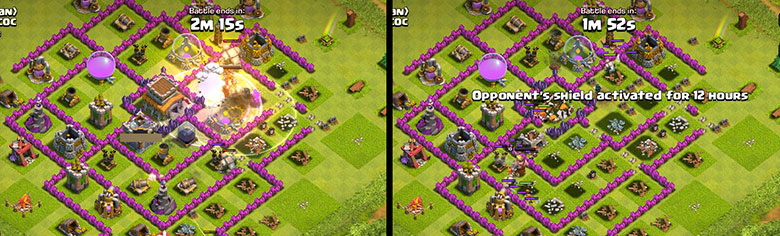 Strategia GoMaVa per attaccare in Clash of Clans