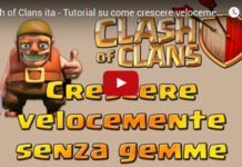 Crescere velocemente senza usare gemme: Tutorial Clash of Clans