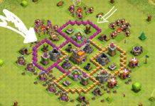 Clash of Clans: Farmare con Giganti e Curatori al Municipio livello 6 e 7