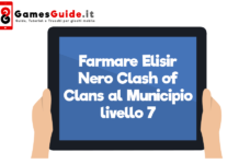 Farmare Elisir Nero Clash of Clans al Municipio livello 7