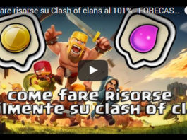 Come farmare risorse Clash of Clans con Forecaster: videotutorial