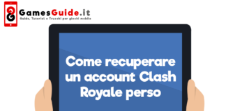 Come recuperare un account Clash Royale perso
