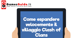 Come espandere velocemente il villaggio Clash of Clans