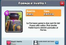 Fornace Clash Royale: come funziona e come usarla