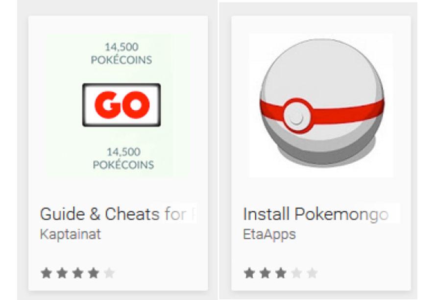 Pokemon Go finte app: attenzione perchè sono piene di virus!