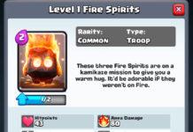 Spiriti del Fuoco Clash Royale: come funzionano e come usarli
