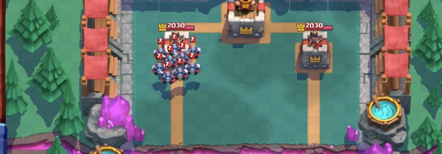 Trucco Clash Royale per nascondere una carta all'avversario e vincere!