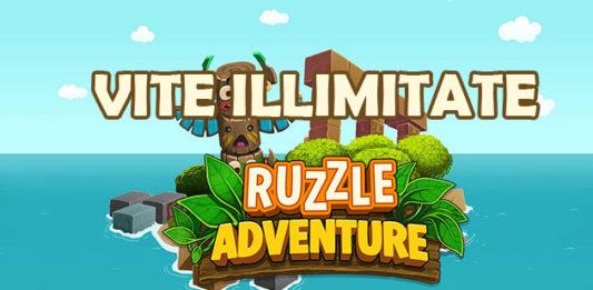 Vite illimitate Ruzzle Adventure