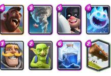 Deck Arena 9 e 10 Clash Royale: Tornado + Domatore + Boia